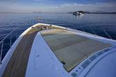 İtalya, sardunya, tiren denizi, 35 metre lüks yat — Stok fotoğraf