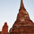THAILAND, Ayutthaya, the ruins of the city's ancient temples — Stock Photo #8993726