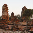 THAILAND, Ayutthaya, the ruins of the city's ancient temples — Stock Photo