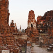 THAILAND, Ayutthaya, the ruins of the city's ancient temples — Stock Photo #8998586