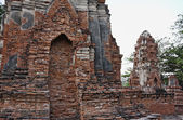 THAILAND, Ayutthaya, the ruins of the city's ancient temples — Stock fotografie