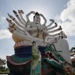 Thailand, Koh Samui (Samui Island), Plai Laem Buddhist Temple (Wat Plai Lae — Stock Photo