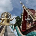 Thailand, Koh Samui (Samui Island), Phra Yai Buddhist Temple (Wat Phra Yai) — Stock Photo #9118553