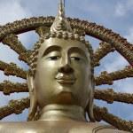 Thailand, Koh Samui (Samui Island), Phra Yai Buddhist Temple (Wat Phra Yai) — Stock Photo
