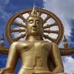 Thailand, Koh Samui (Samui Island), Phra Yai Buddhist Temple (Wat Phra Yai) — Stock Photo #9125298