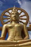 タイ、サムイ島 (サムイ島)、プラ ・ ヤイ仏教寺院 (ワット プラヤイ) — ストック写真
