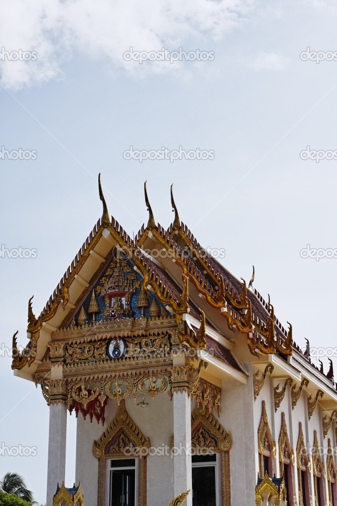Thailand, Koh Samui, Kunaram Temple (Wat Kunaram)  Stock Photo #9207810