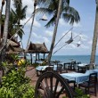Thailand, Koh Samui (Samui Island), restaurant on the beach — Foto Stock