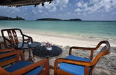 Thailand, Koh Samui (Samui Island), view of a bar on the beach — Stock Photo