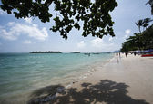 Thailand, Koh Samui (Samui Island), view of a beach — Stock Photo