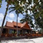 Thailand, Koh Samui (Samui Island), Thai resorts on the beach — Stock Photo #9282625