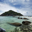 Thailand, Koh Nangyuan (Nangyuan Island), panoramic view of the island — Stock Photo