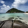Thailand, Koh Nangyuan (Nangyuan Island), view of the island — Stock Photo