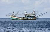 Thailand, MU KOH ANGTHONG National Marine Park, local fishing boat — Stock Photo