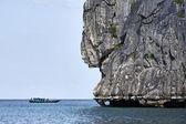 Tailandia, mu koh angthong nacional marina park, barco de pesca local — Foto de Stock