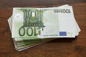 Euro bills, money — Photo
