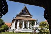 Thailand, Bangkok, Amarintharam Worawihan Temple — Stock Photo