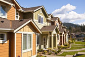 New houses — Stock Photo