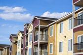 Suburban houses — Stock Photo