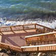 Stock Photo: Wooden deck