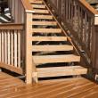 Wooden deck — Stock Photo