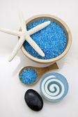 Zestaw blue spa — Zdjęcie stockowe