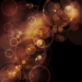 Sepia tone bokeh vector background — Vecteur