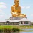 Golden statue of Lord Buddhhead — Stock Photo #8229425
