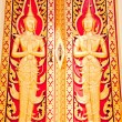 Thai golden door — Stock fotografie #8229810