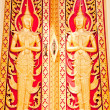 图库照片: Thai golden door