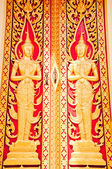 Thai golden door — Stock Photo