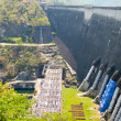 Dam to block water to generate electricity in Thailand — Stock Photo