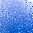 Condensation on the glass — Stock Photo