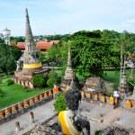 Ancient image buddha statue in Ayutthaya Thailand — Stock Photo #8266317