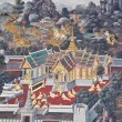 Stock Photo: Thailand's beautiful murals