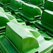 Stock Photo: Green leaves several bins