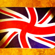 This national flag of England.old color scheme — Foto Stock #8719943