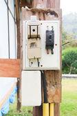 The power plug — Stock Photo