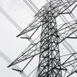 Large high-voltage towers - Stockfoto