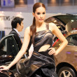 Stock Photo: Thailand International Motor show 2012