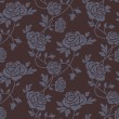 Roses damask seamless pattern - Stock Vector