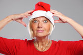 Goofy Santa — Stock Photo