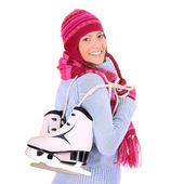 Ready for skiing! — Stock Photo