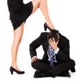 Female dominance — Stock Photo