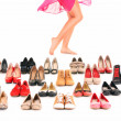 Shoe shopping — Stock Photo #9164763