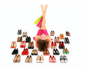 我需要的都是鞋! — 图库照片