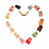 Shoe heart — Stock Photo