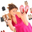 Shoe sale! — Stock Photo