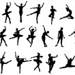 Royalty-Free Stock Vectorafbeeldingen: Ballet dancer