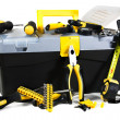 Stock Photo: Tools and toolbox